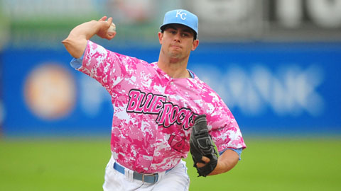 Andy Ferguson picked up the win in his Blue Rocks debut on Thursday night.