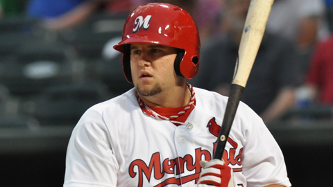 Matt Adams has four homers and 10 RBIs in his last four games.