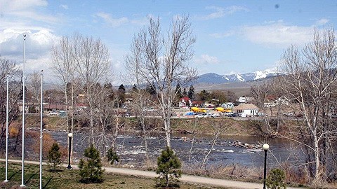 Missoula fans can float to the ballpark via the nearby Clark Fork River.
