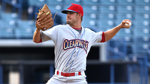 Adam Morgan has 20 strikeouts over his last two starts for Clearwater.