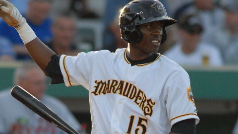 Marte hit .315 and stole 22 bases in 60 games for the 2010 Marauders.
