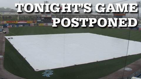 Thursday's game was suspended in the third inning. The game will be resumed at Harry Grove Stadium