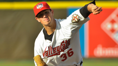 Brian Holmes was selected by the Astros in the 13th round of this year's Draft.