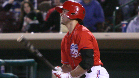 Randal Grichuk led the 66ers with five RBI in the win.