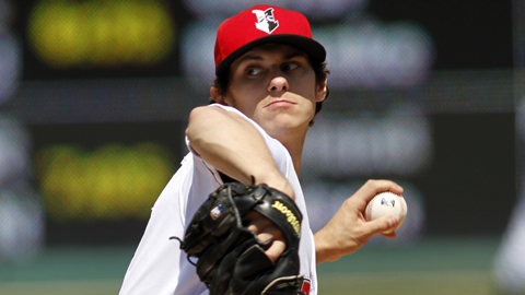 Jeff Locke ranks third in the International League with a 2.66 ERA.