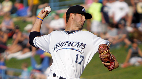 West Michigan's Jeff Ferrell retired all 21 batters he faced this week.