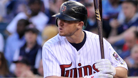 Chris Parmelee started the year in Minnesota and hit .204 in 40 games.
