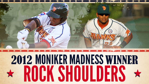 Boise's Rock Shoulders defeated Rougned Odor of Hickory to claim the Moniker Madness crown.