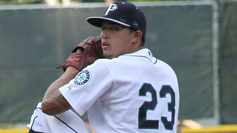 Charles Kaalekahi is 3-2 with a 2.27 ERA in nine Appy League starts.