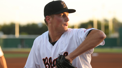 Tim Crabbe is 3-0 with a 3.03 ERA in five starts for Bakersfield in 2012.