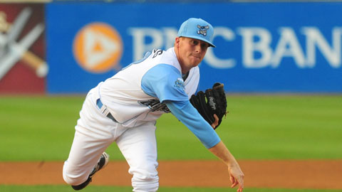 Matt Ridings has made 30 relief appearances and five starts at two levels this season.