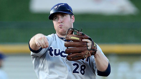 Jedd Gyorko is batting .333 with 65 RBIs and 51 runs in 74 Tucson games.