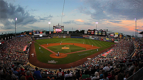 Lehigh Valley's Coca-Cola Park leads the IL in attendance this season.