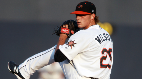 Tyler Wilson is 6-5 with a 3.43 ERA in 15 starts for Frederick.