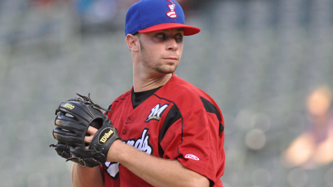 Tyler Thornburg is 1-0 with a 1.80 ERA in four starts for the Sounds.