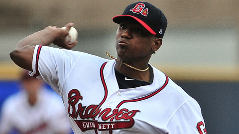 Julio Teheran won for the first time in seven starts since July 8.