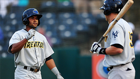 Zoilo Amonte has gone deep eight times since July 31 for Trenton.