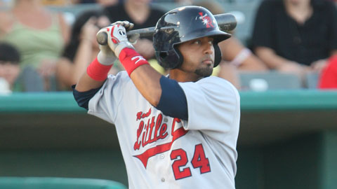 Alberto Rosario is in his third season with Double-A Arkansas.