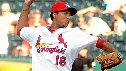 Carlos Martinez earned his first win since July 14 on Tuesday.