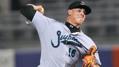 Jose Fernandez is 6-1 with a 2.20 ERA in nine starts for Jupiter.