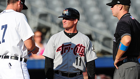 ValleyCats mnanager Stubby Clapp is in his second season at Tri-City.