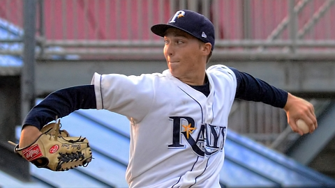 Princeton lefty Blake Snell was named the Appy League's top hurler.
