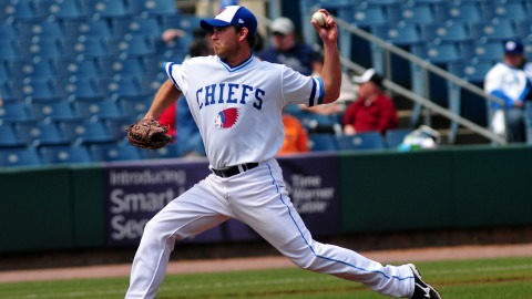 Zach Duke allowed five hits and three runs in seven innings on Thursday.