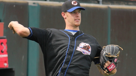 Zack Wheeler spun a gem for the Herd in Game 1 of the Sunday doubleheader.