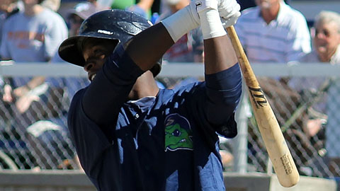 Miguel Sano leads the Midwest League with 27 homers and 97 RBIs.
