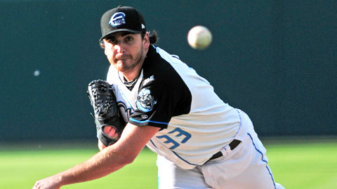John Lannan shut out Gwinnett on three hits Saturday night.