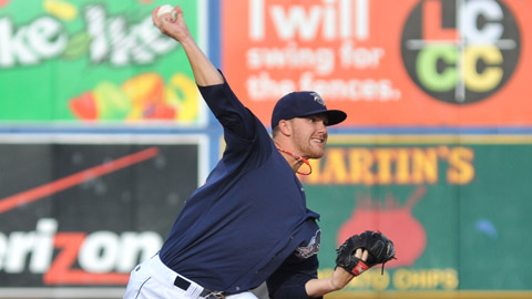 Tyler Cloyd is 12-1 with a league-best 2.35 ERA this season for Lehigh Valley.