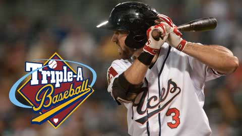 Adam Eaton is the 2012 PCL Rookie of the Year.