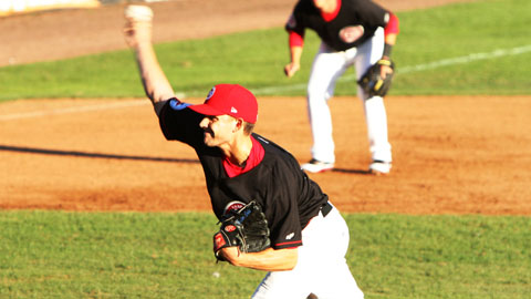 Taylor Cole leads the Northwest League with an 0.81 ERA and an 0.80 WHIP this year.