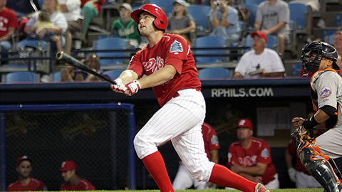 Darin Ruf hit his record-breaking 38th HR, surpassing Ryan Howard's record.