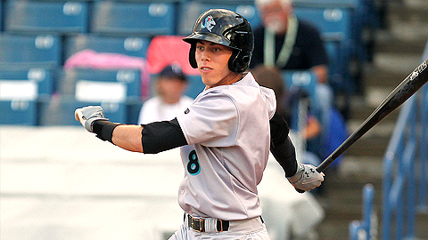 Christian Yelich has 16 hits in his last 10 games for Jupiter.