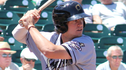 Wil Myers ranks second in the Minors with 37 homers and third with 109 RBIs.