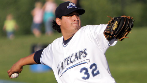 Marcelo Carreno ranks sixth in the Midwest League with 119 strikeouts.