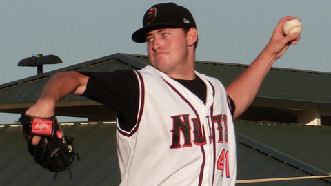 Modesto's Tyler Matzek held San Jose scoreless for six innings Saturday.