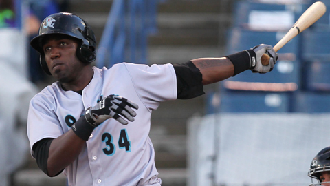 Jupiter's Marcell Ozuna led the league in home runs and RBIs.