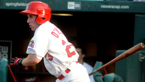 Cardinals outfielder Mike O'Neill is hitting .563 in 13 Double-A games.