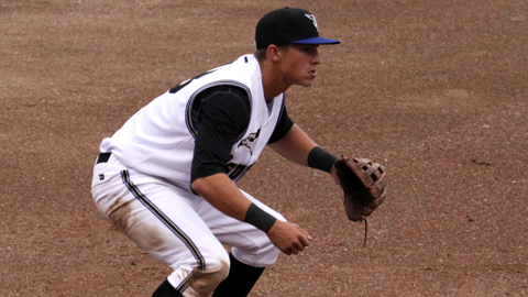 Third baseman Jake Lamb started Missoula's game-ending triple play on Aug. 11.