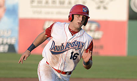 Catcher Spencer Kieboom drove in two of the Doubledays four runs on Friday with a double in the fourth