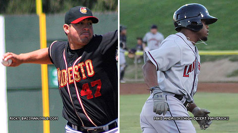 Juan Gonzalez will start Game 2 for Modesto Friday vs. Delino DeShields, Jr. and Lancaster.