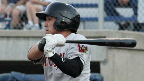 Brandon Macias shares the team lead with eight hits in the playoffs.