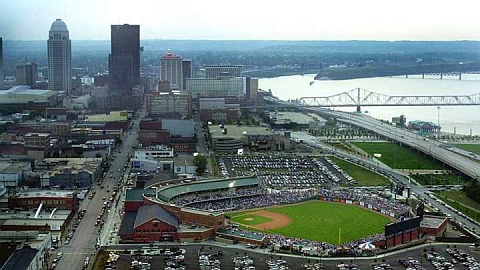 The Louisville Bats are the host club for the 2013 Minor League