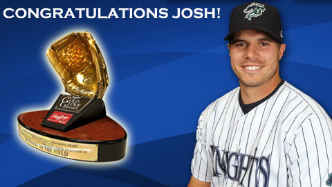 Josh Phegley was also a 2012 International League All Star and winner of the Charlotte Knights Community Service Award.