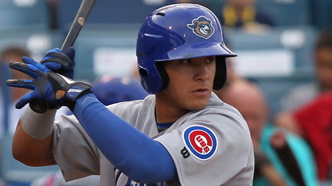 Javier Baez slugged 16 homers across two levels this season.