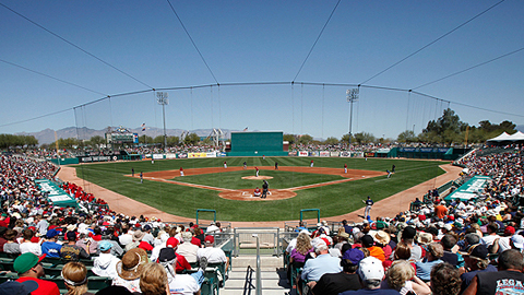 Kino Stadium has not had a Spring Training tenant since the D-backs left in 2010.