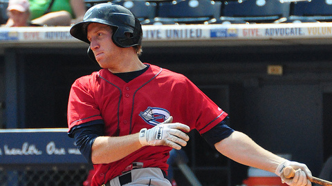Jared Goedert ranked second in the Indians system in home runs and RBIs.