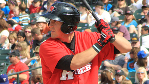 Chris McGuiness was fourth in the Texas League in homers.
